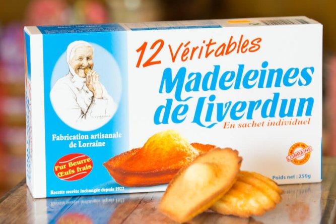 Véritables Madeleine de Liverdun Nature  X12