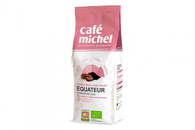 Café Michel Bio Moulu Équateur