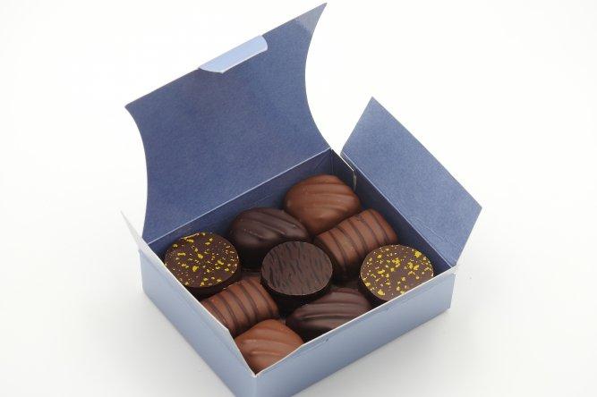 Ballotin Classique. Assortiment de 9 chocolats.