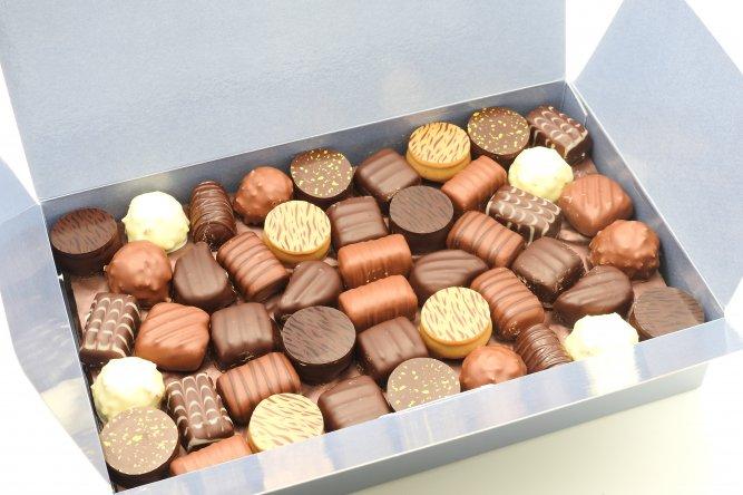 Ballotin Classique. Assortiment de 92 chocolats.