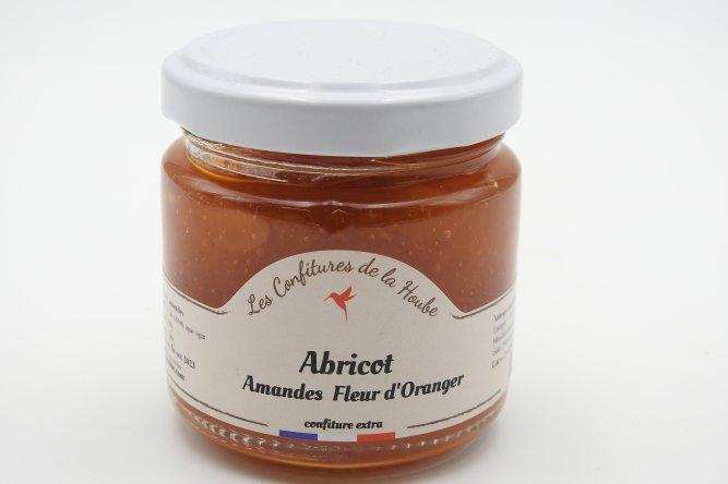 Confiture d'Abricots, Fleur d'Oranger et Amandes