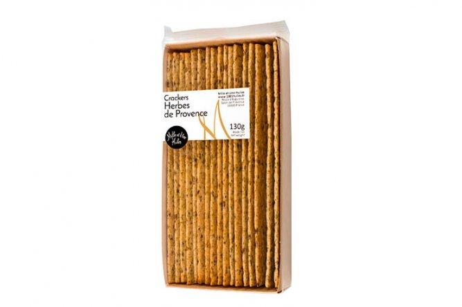 Crackers aux Herbes de Provence remplacés par olive et basilic car rupture producteur