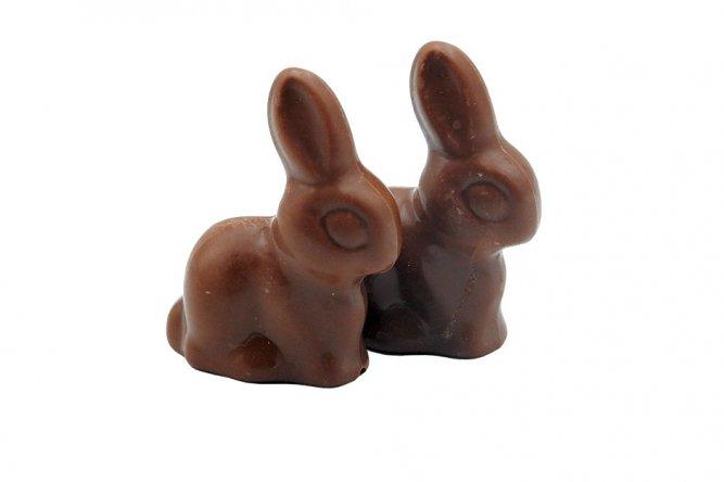 2 Lapins Bunny chocolat lait