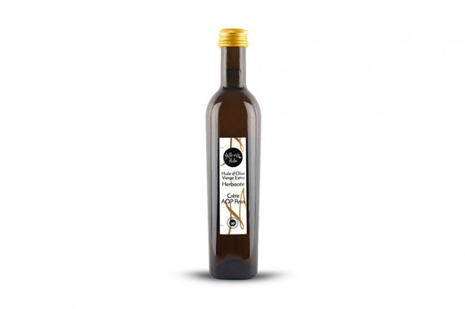 Huile d'Olive Vierge extra Herbacée Crète AOP
