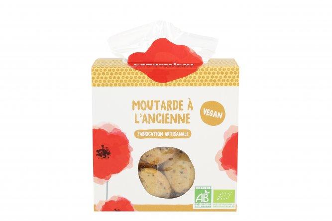 Biscuits bio Moutarde à l'Ancienne