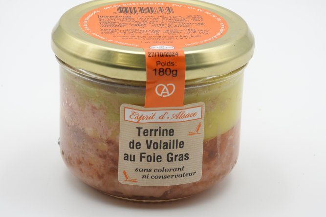 Terrine Volaille et Foie Gras