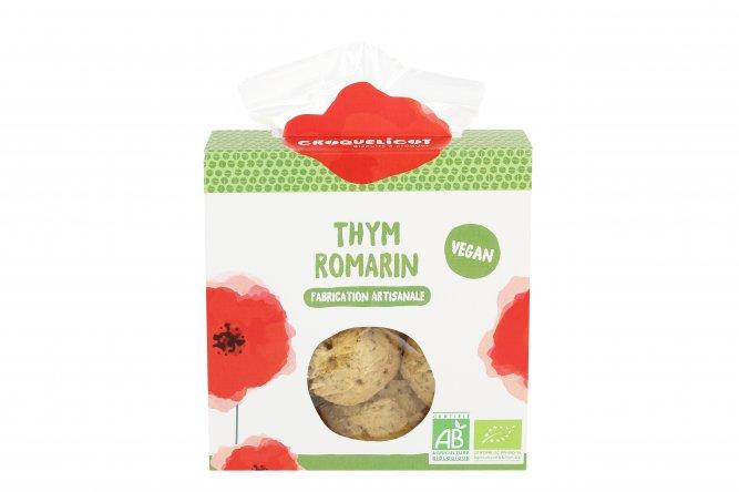 Biscuits Bio Thym et Romarin