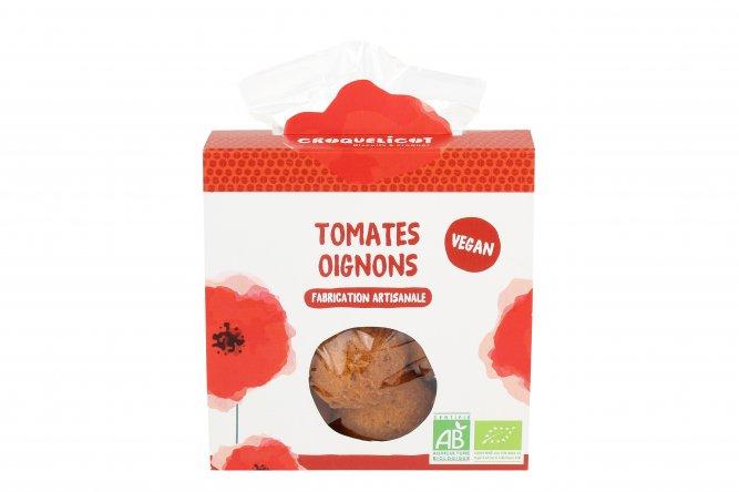 Biscuits bio Tomates et Oignons