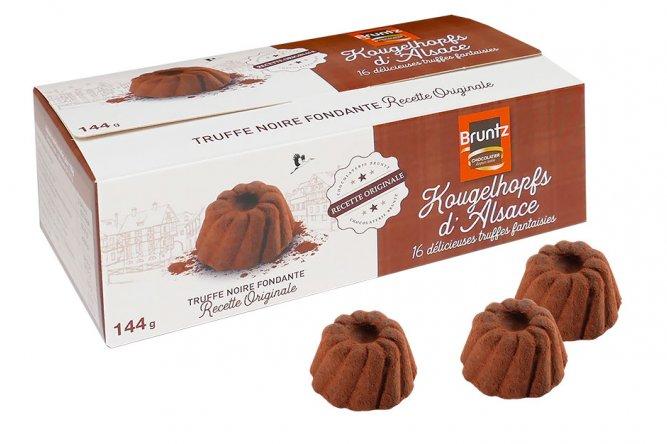 Truffes Kougelhopfs chocolat noir
