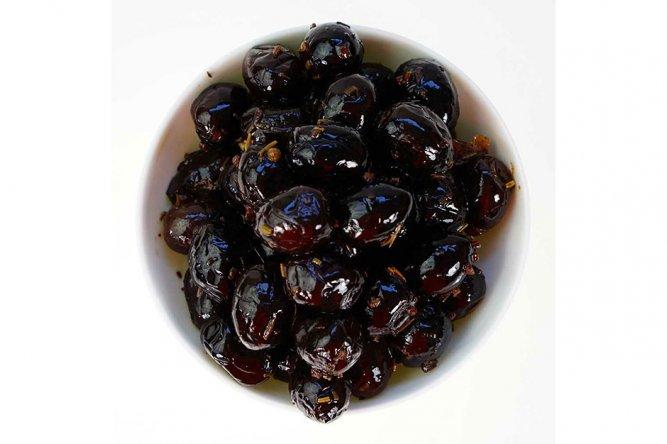 Olives Noires Grèques